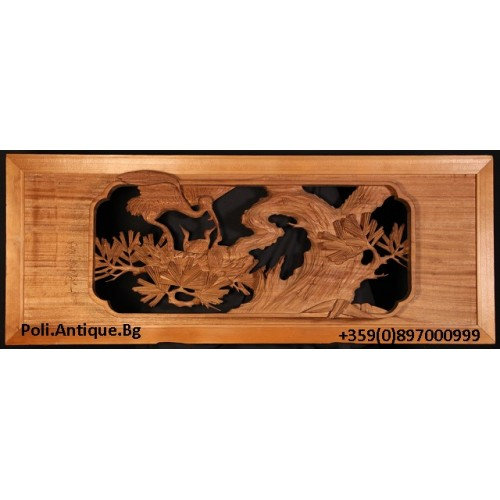 Traditional Japanese woodcarving Inami