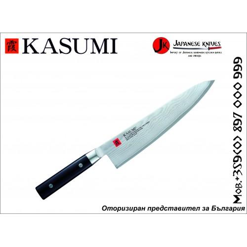 Kasumi Chef's knife 240 Damascus No.88024